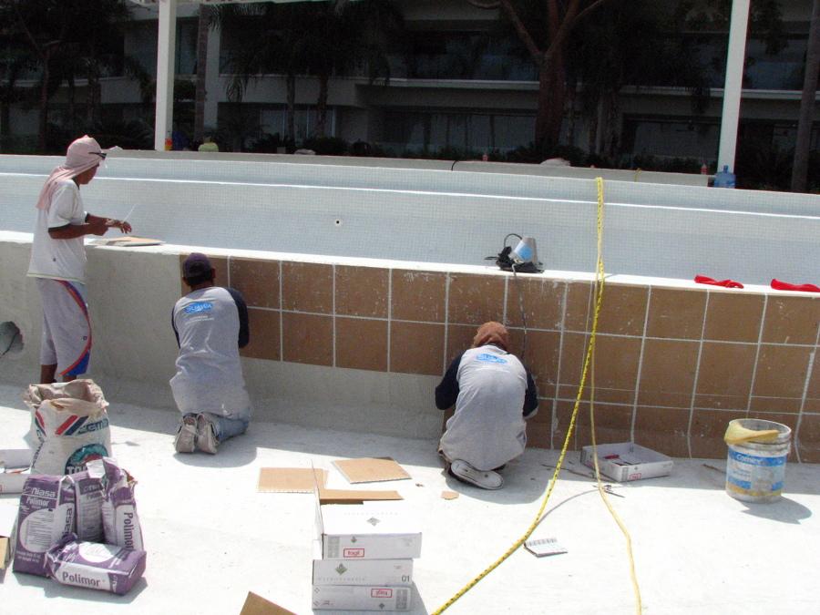 Azulejos Baño Sueltos:Foto: Azulejo 2 x 2 Tipo Veneciano de Equipos e Ingenieria del Agua SA