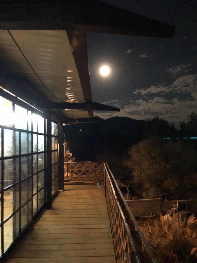 Balcon sur noche