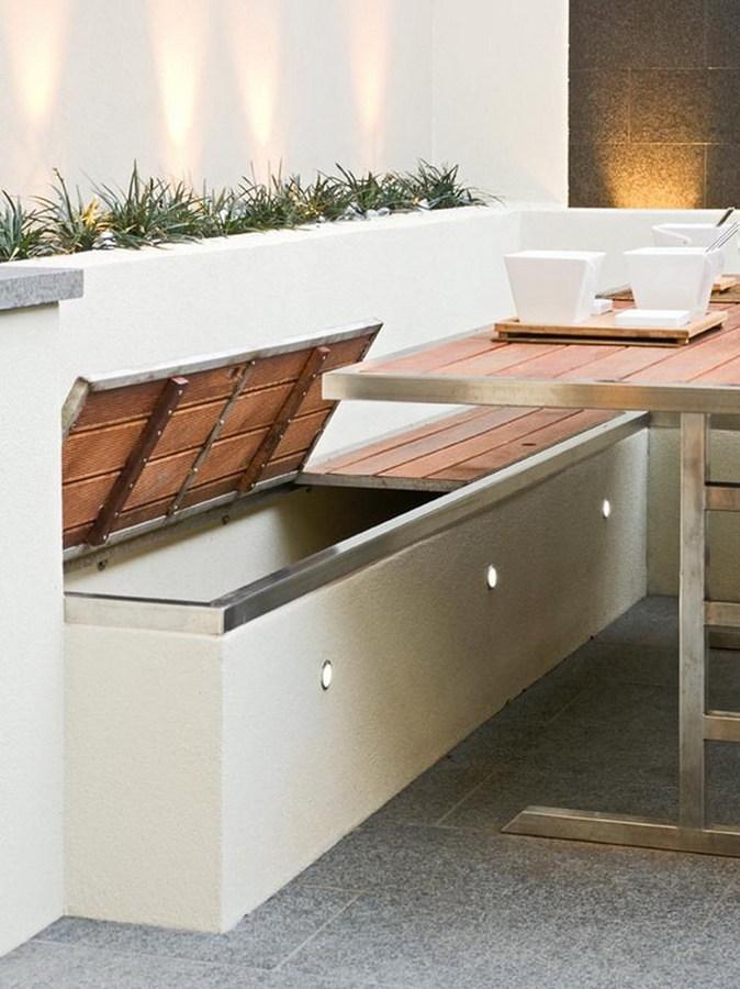 Moderno Bancos De Almacenaje De La Cocina Muebles Modelo - Muebles ...