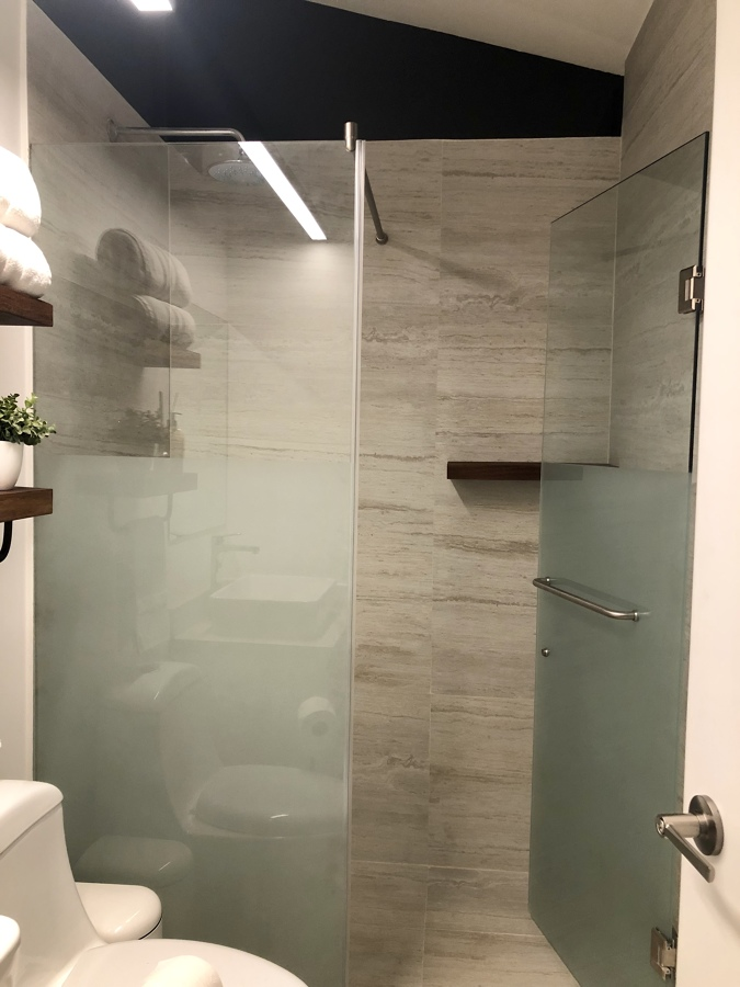 Baño completo en ampliación Departamento