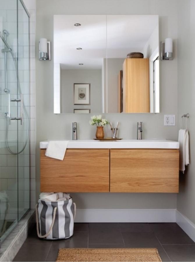 Muebles de baño sin jaladeras