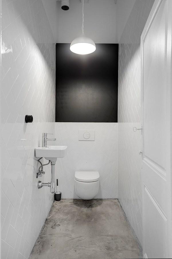Baño funcional y moderno