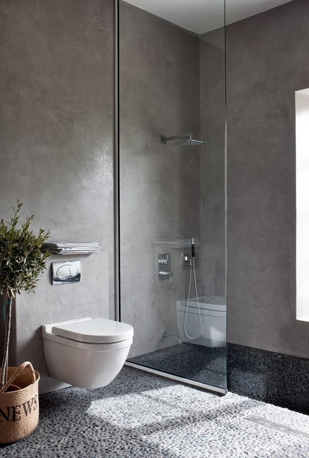El Cemento en la Decoración del Hogar   Ideas Diseño de Interiores