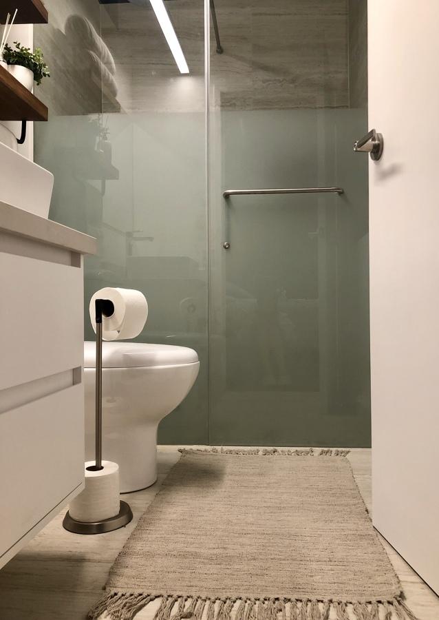 Baño pequeño pero completo