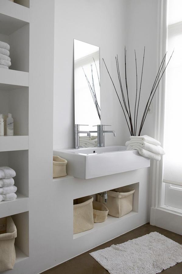 Baño construido con tablaroca
