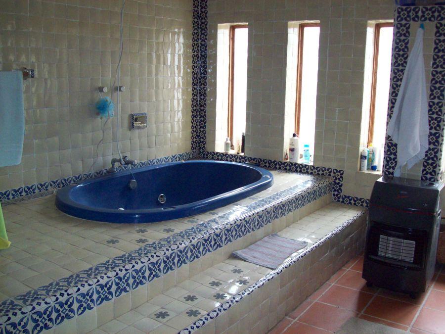 Baños Con Tina De Cemento:Proyecto y Construcción de Casa Habitación