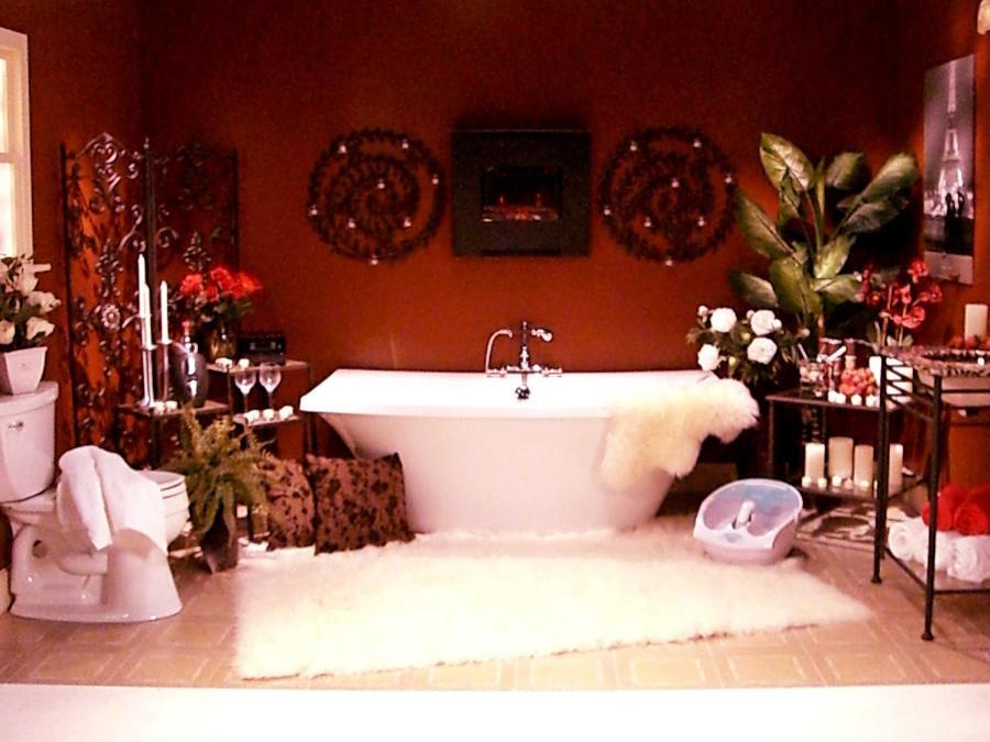 Decorar Un Baño Romantico:Ideas Románticas para Decorar un Cuarto de Baño