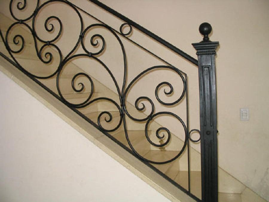 Foto barandal de mariposa de comercial vireth 182379 - Barandas de forja para escaleras ...