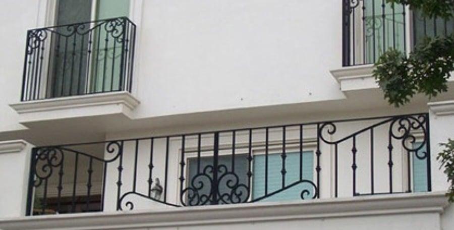 Barandales metal madera ideas canceler a met lica for Puertas de herreria para interiores