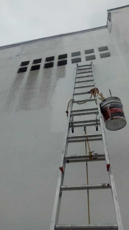 Barda en proceso de renovacion
