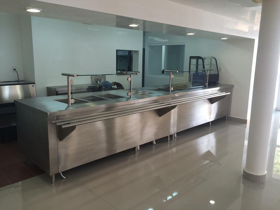 Construcci n de comedor industrial incluye suministro y for Concepto de comedor industrial