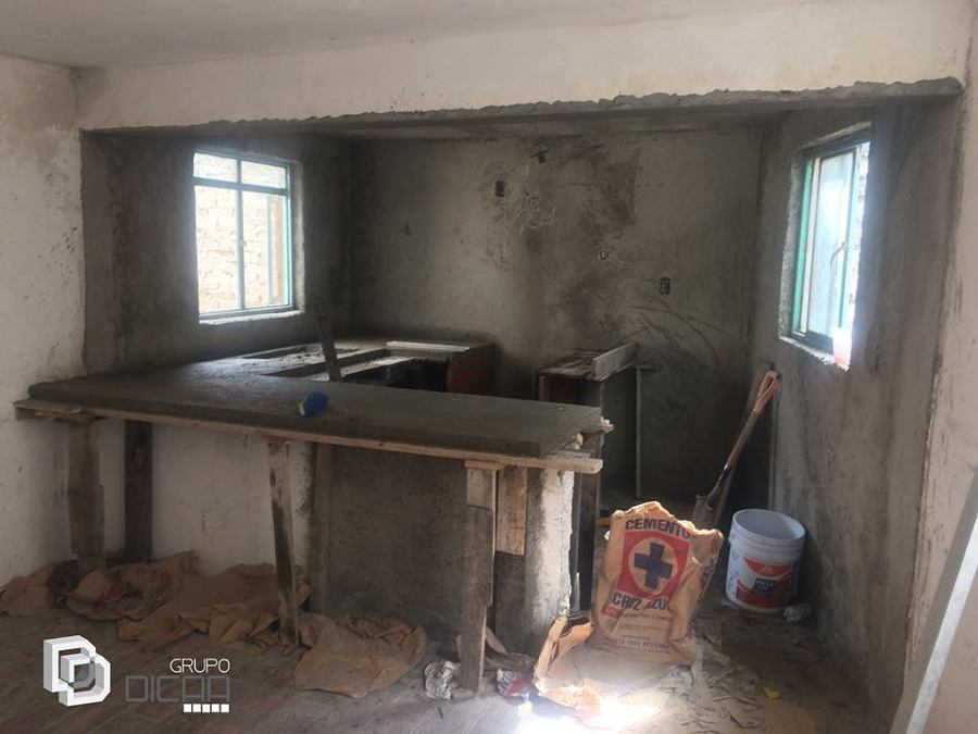 Foto Barra De Concreto En Cocina De Grupo Dicaa 381702 Habitissimo