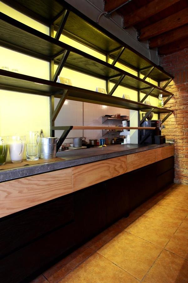 Barra exterior de cocina