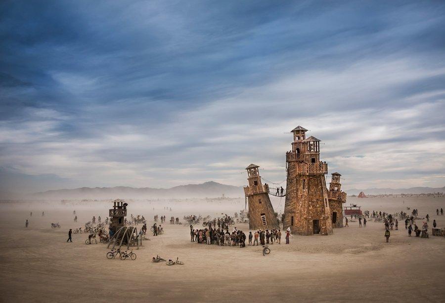Black Rock Lighthouse Service en Burning Man
