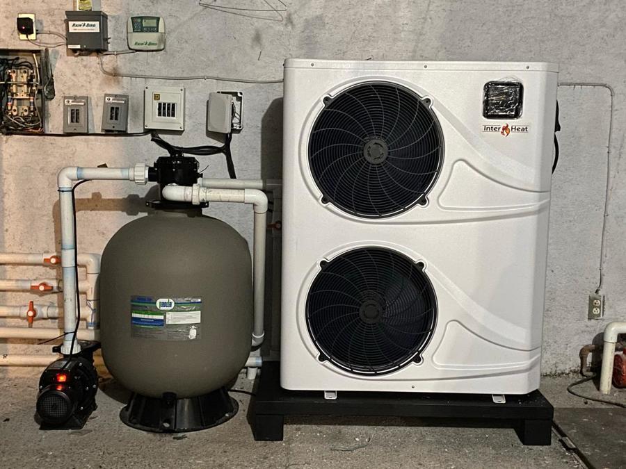 Bomba de Calor y filtro de agua