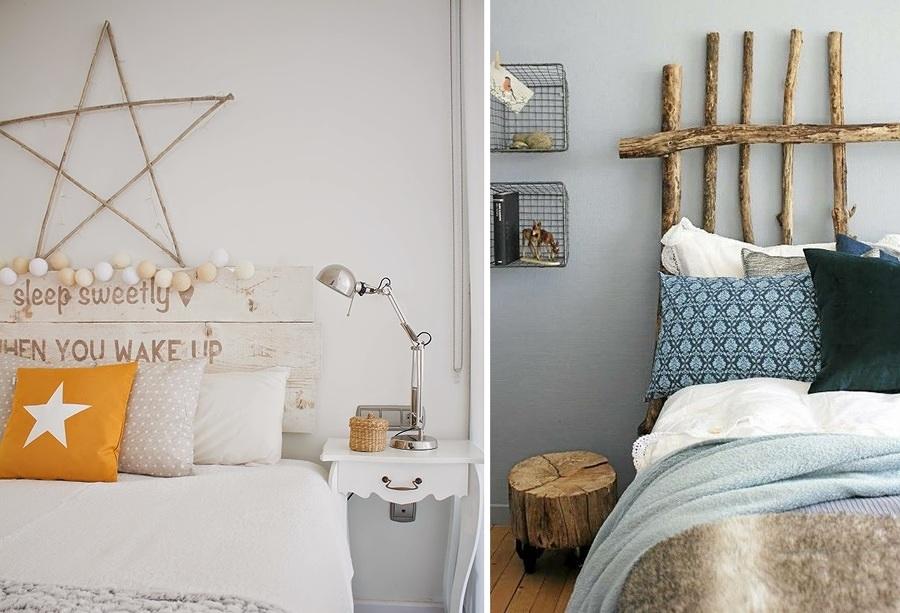 10 ideas para convertir tu dormitorio en un estiloso - Ideas para hacer un cabezal de cama ...