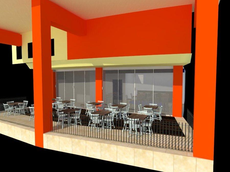Cafetería SEDENA (perspectiva frontal)