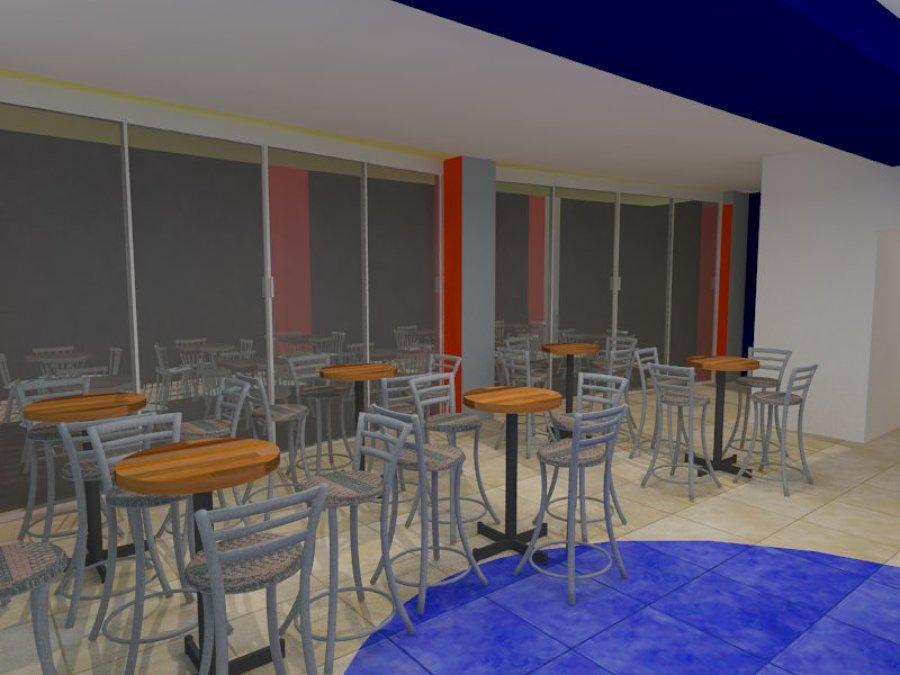 Cafetería SEDENA ( vista de estancia)