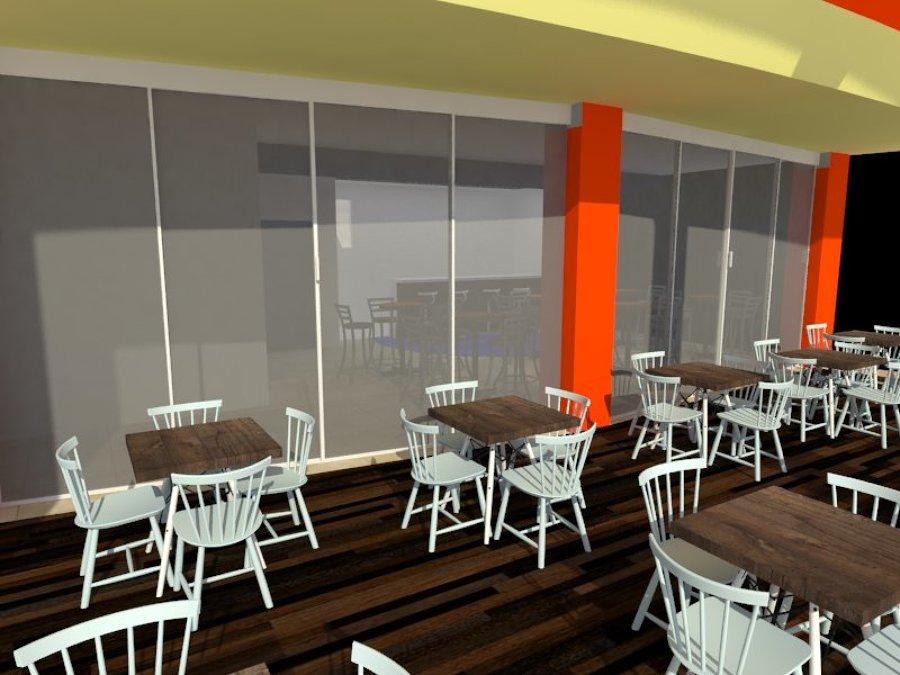 Cafetería SEDENA ( vista terraza)