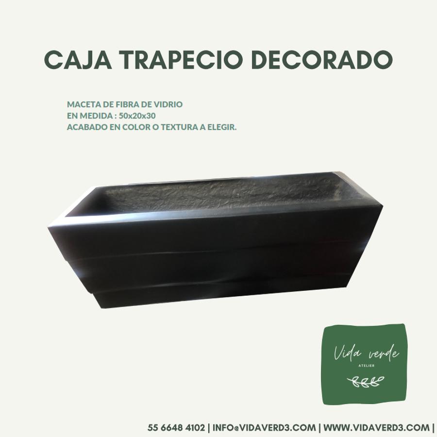 Caja Trapecio Decorado