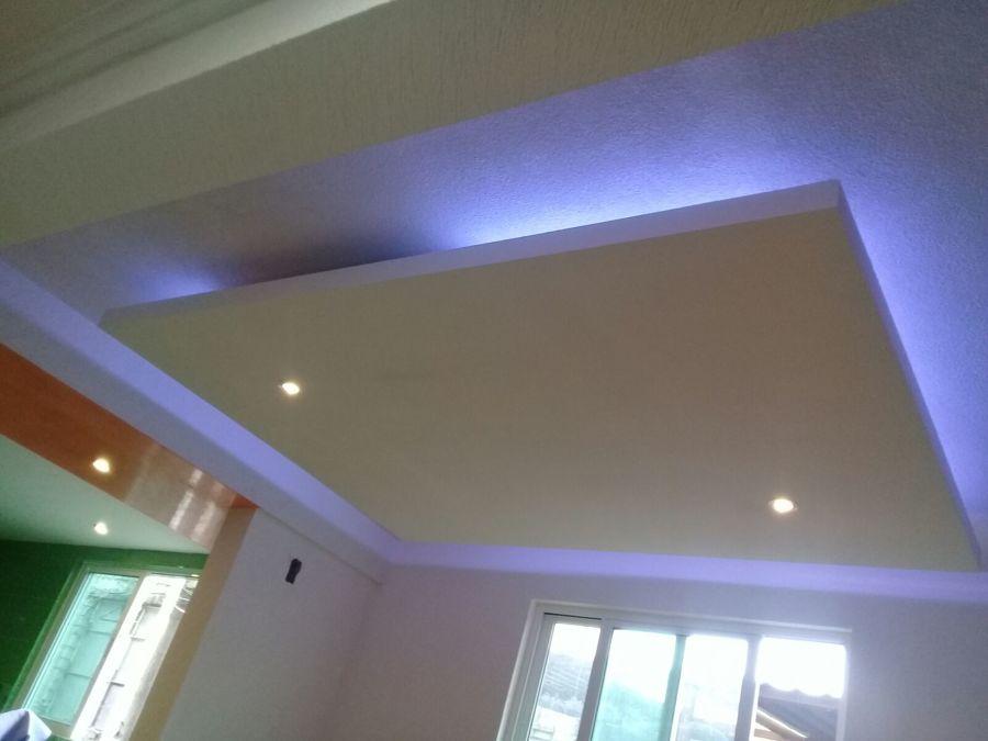 Algunos de nuestros trabajos ideas construcci n casa for Decoracion de techos con tablaroca