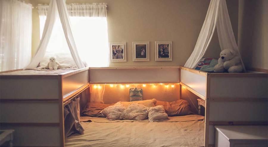 Tunean una cama de ikea para que duerma toda la familia (son 7 ...