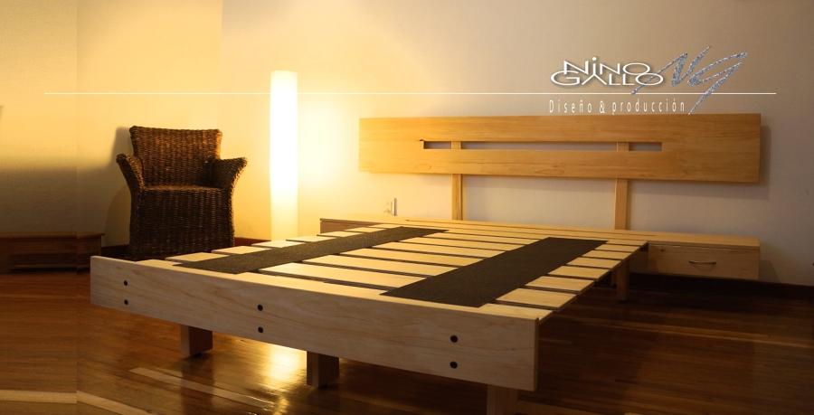 Sr luis domingues ideas carpinteros for Base cama matrimonial