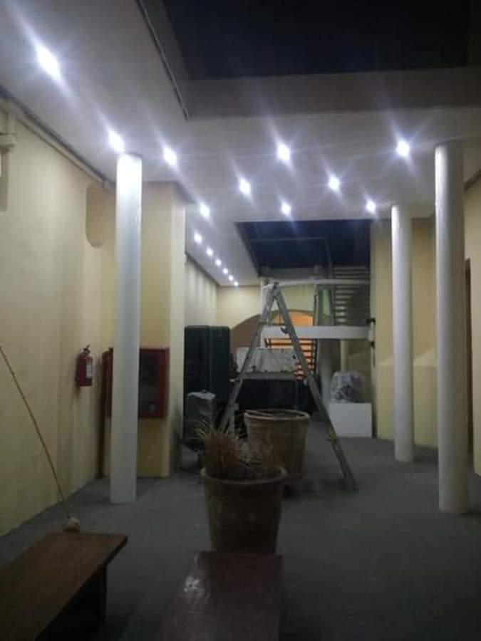 cambio de cableado y luminarias