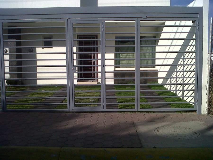Foto cancel de herreria de remodelaciones guadalajara - Puertas para cocheras ...