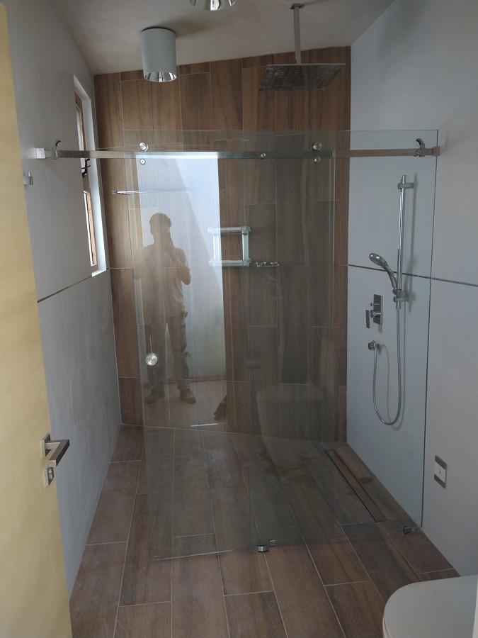 Cancel para baño templado línea Bacalar