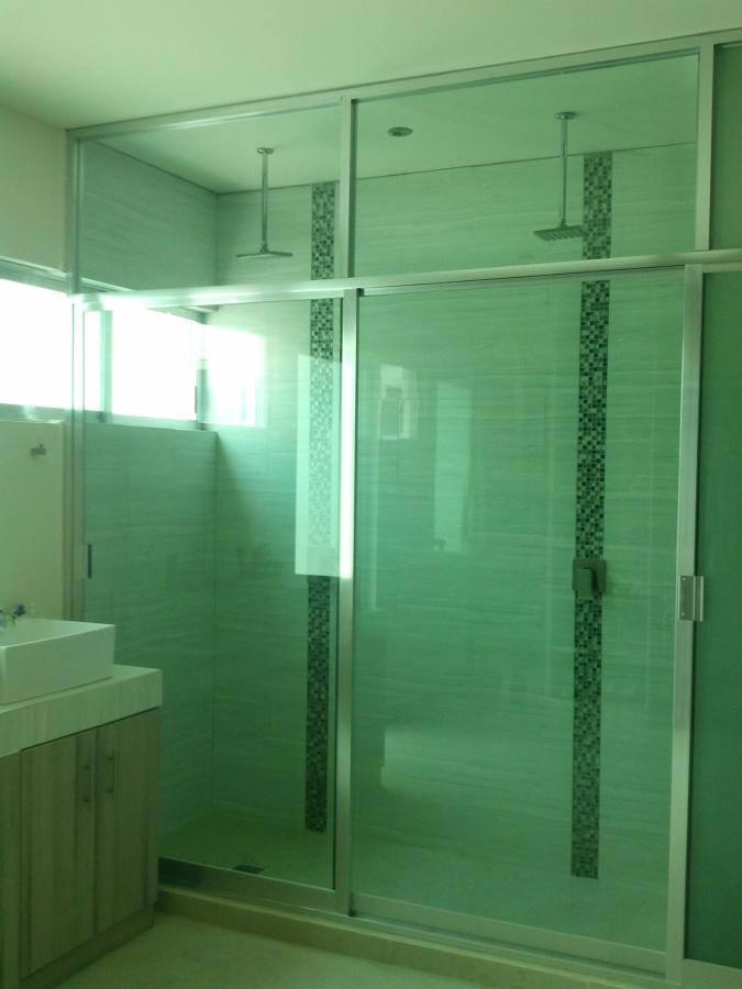 Canceles de baño en cristal templado