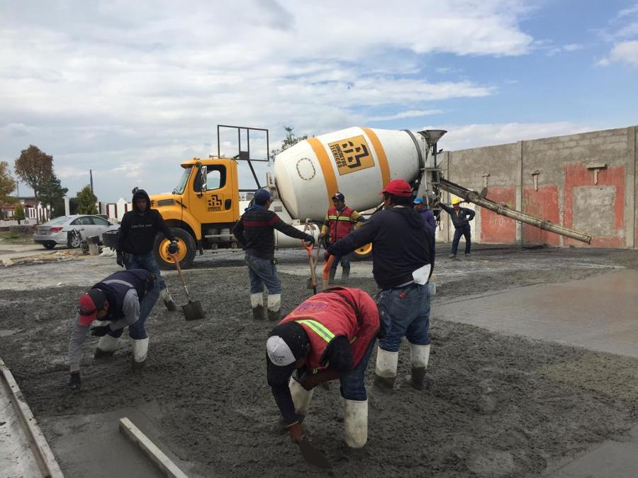 Cancha de usos múltiples Cuautlancingo Puebla