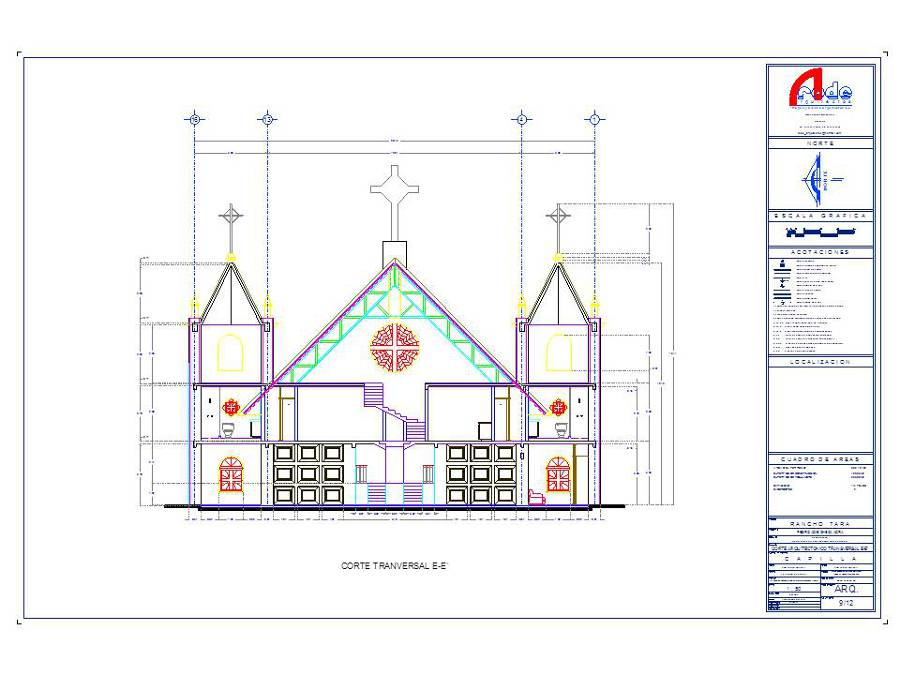 Capilla y/o Iglesia.