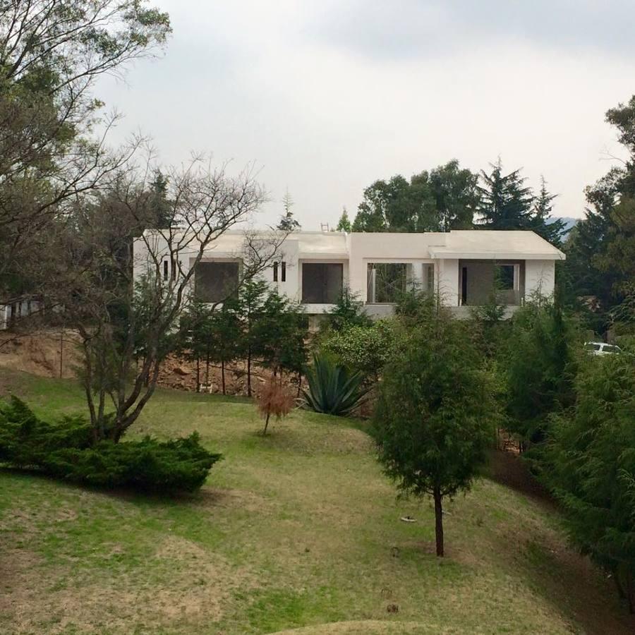 Casa Apaxco, Fachada Trasera