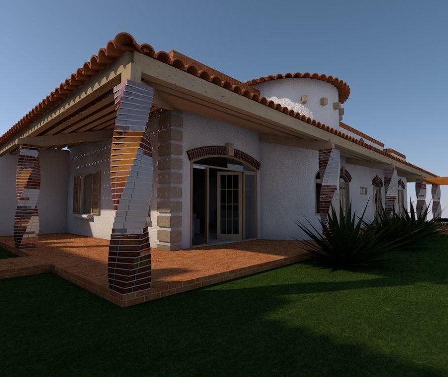 Casa de 130 m2 Tipo Colonial en San Miguel Allende Guanajuato