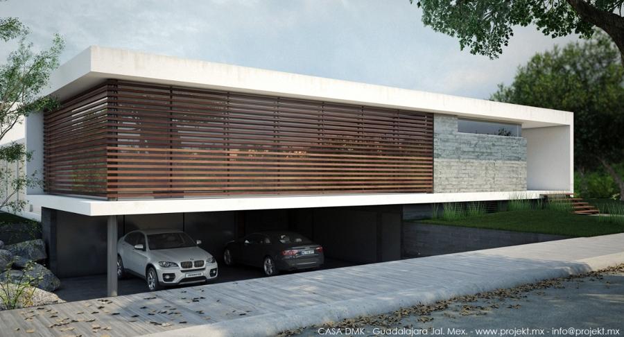 Casa DMK, Fachada