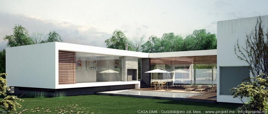 Casa dmk ideas arquitectos for Casas con jardin y terraza