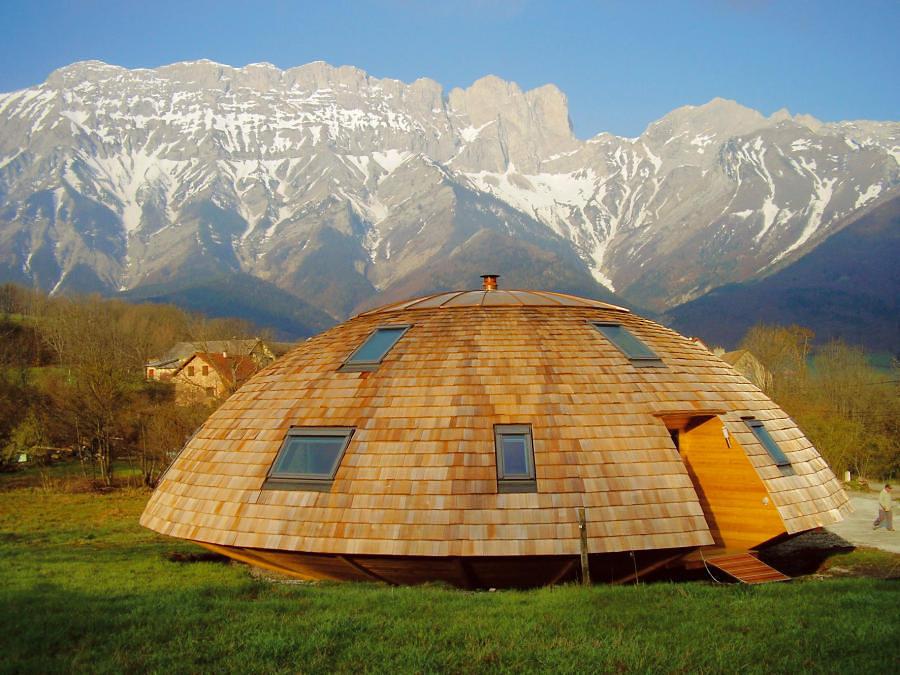 Casa esferica