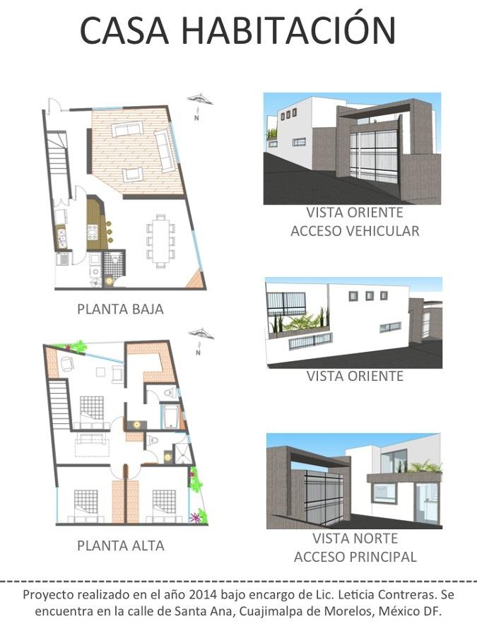 Casa habitaci n ideas arquitectos for Proyecto casa habitacion minimalista