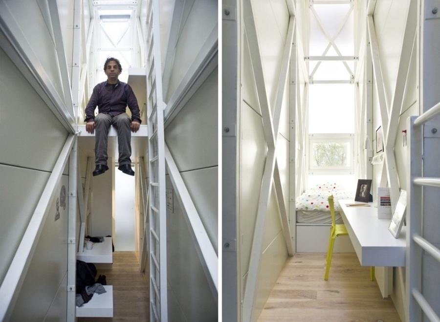 casa más estrecha del mundo