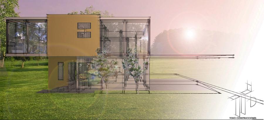 Foto casa minimalista de todo construcciones celaya for Casa minimalista aguascalientes