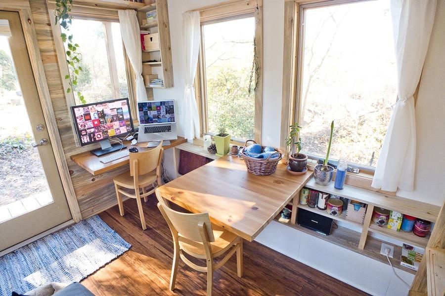 interior casa móvil
