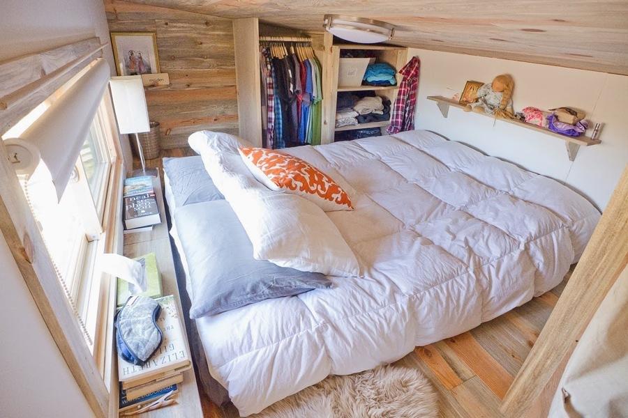 dormitorio casa móvil