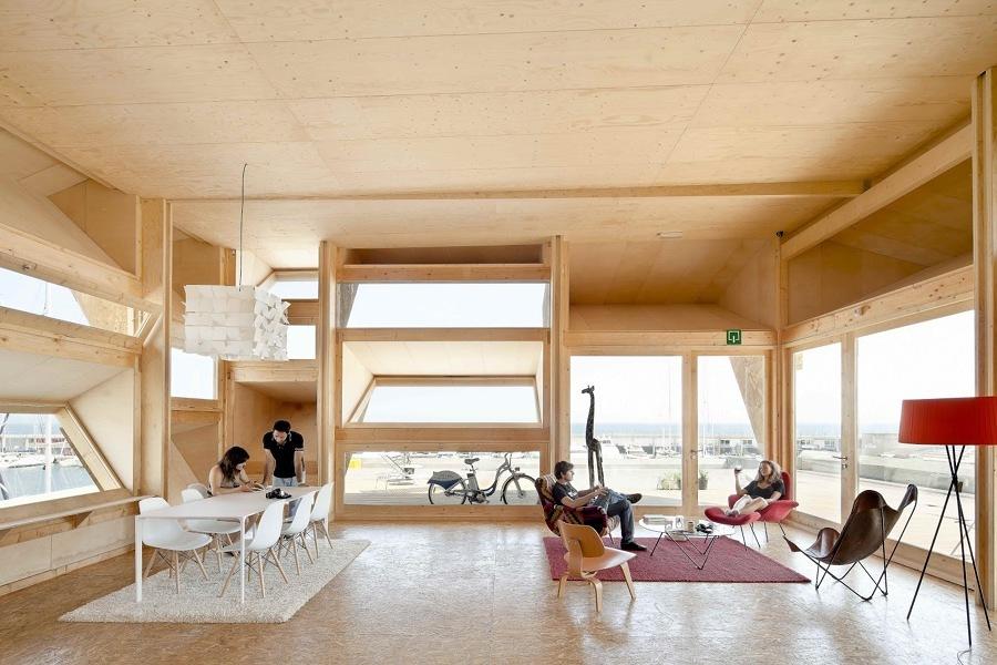 interior casa solar