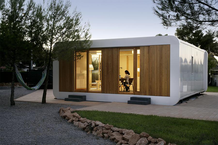 5 casas prefabricadas peque as y f ciles de colocar - Casas prefabricadas moviles ...