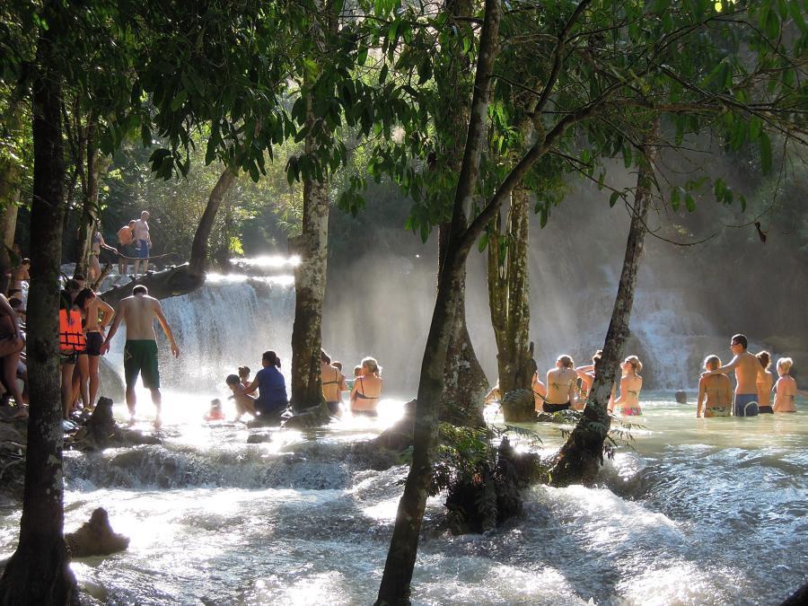 Cascadas de Tat Kuang