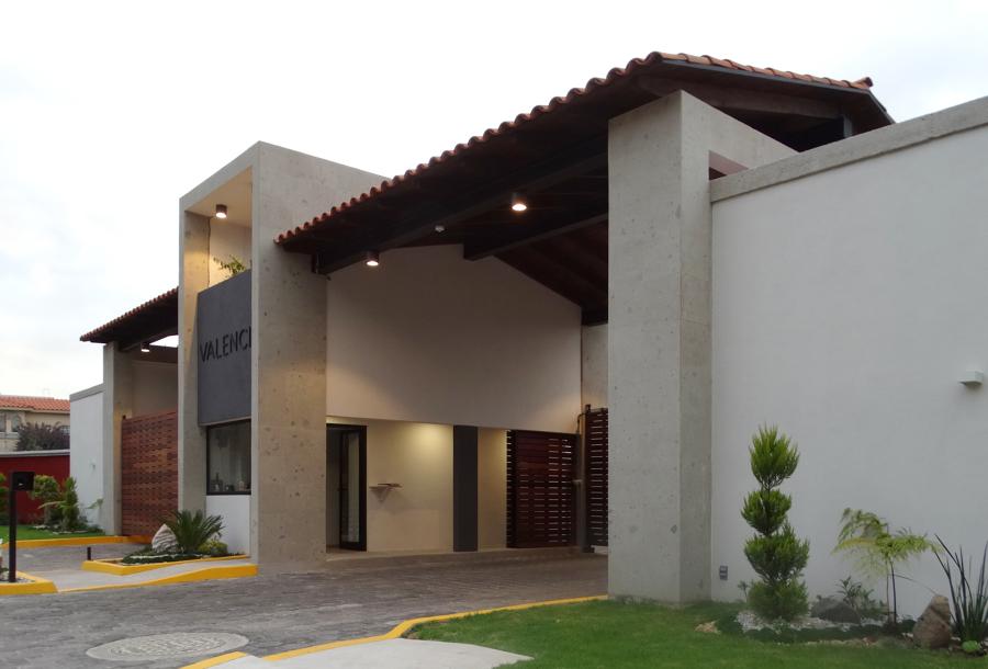 Caseta del conjunto Valencia en Providencia Metepec