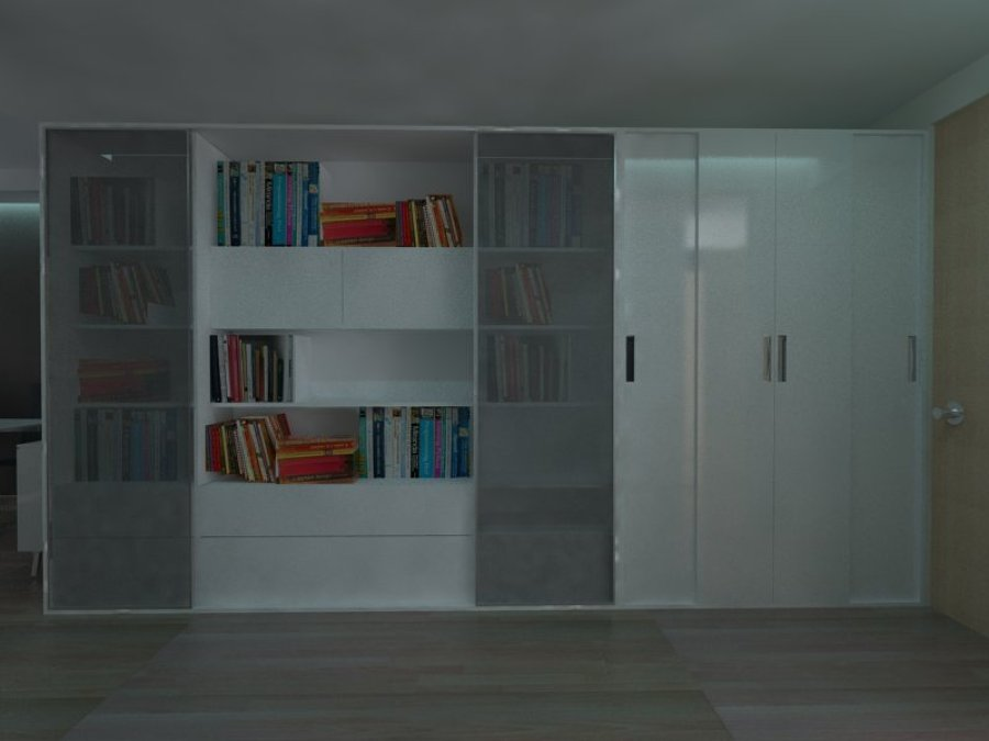 Closet-Librero