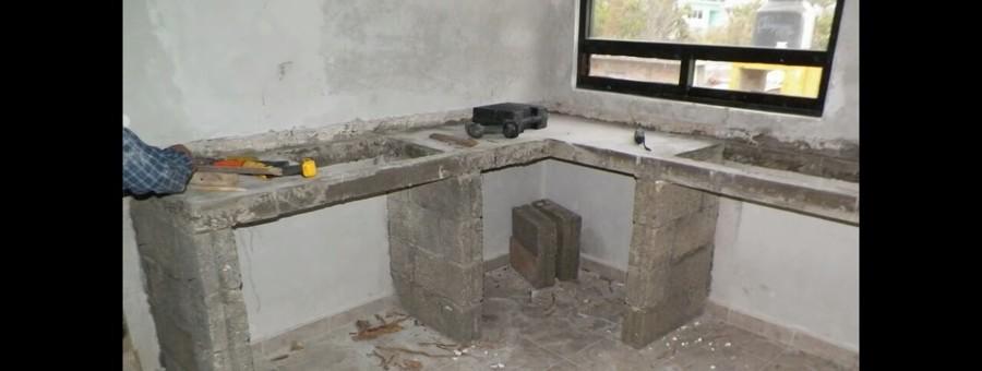 Cocinas de concreto ideas remodelaci n cocina for Cocinas en concreto