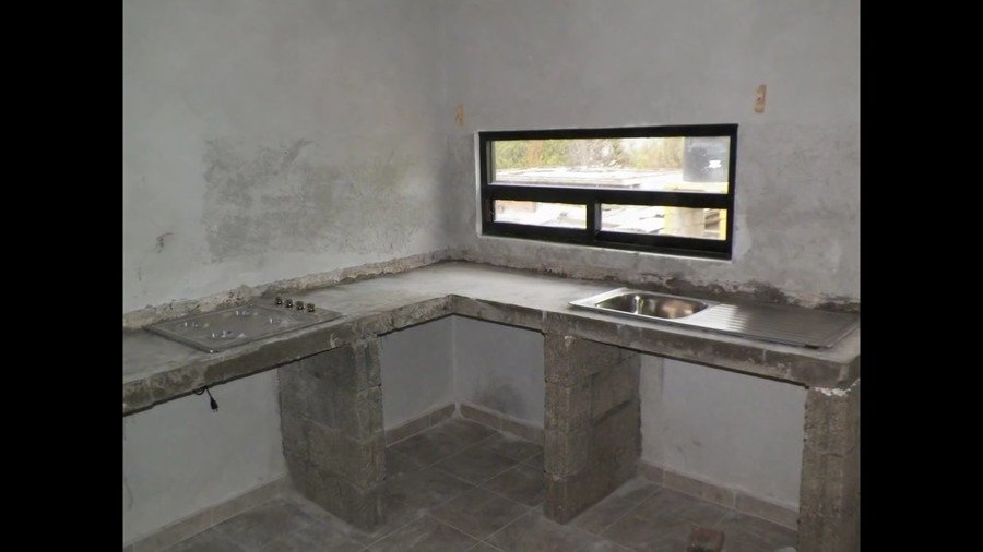 Cocinas de concreto ideas remodelaci n cocina for Remodelacion de cocinas pequenas